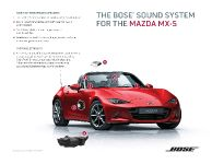 2016 Mazda Miata MX-5 With BOSE Audio System , 3 of 3