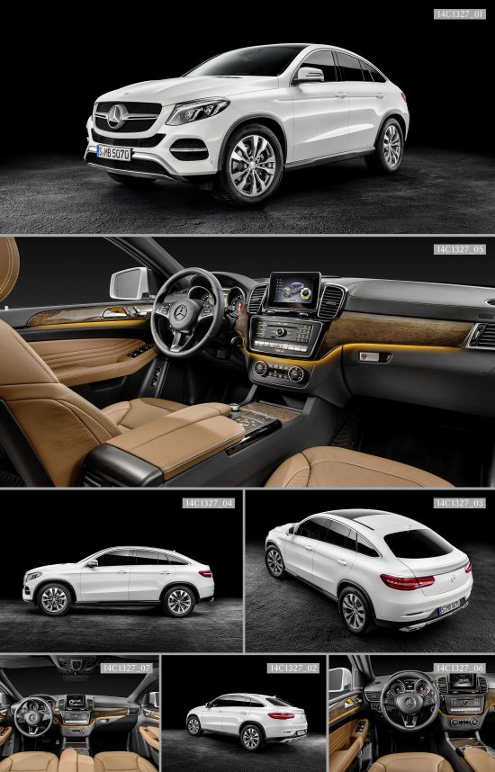 2016 Mercedes Benz Gle Coupe Picture 114379
