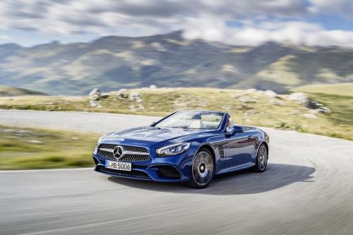 Mercedes-benz sl roadster - релизы о новой линейке СЛ