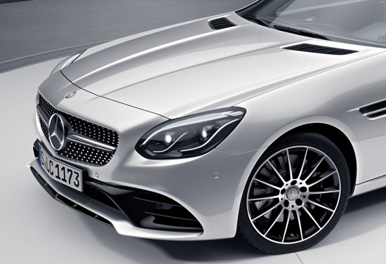 Mercedes-Benz SLC Night Package