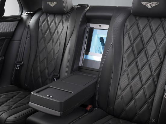 Mulliner Features in Flying Spur