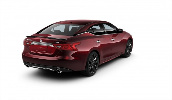 Nissan Maxima SR Midnight Edition Package