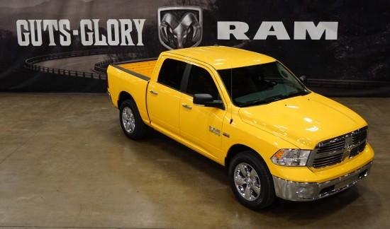 Ram Yellow Rose of Texas