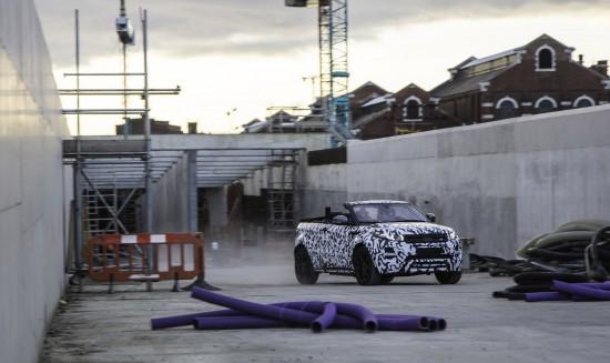 Range Rover Evoque Convertible Camouflage