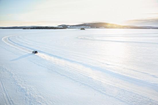 Range Rover Sport SVR at Arctic Silverstone