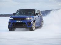 2016 Range Rover Sport SVR at Arctic Silverstone, 3 of 13