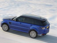 2016 Range Rover Sport SVR at Arctic Silverstone, 4 of 13