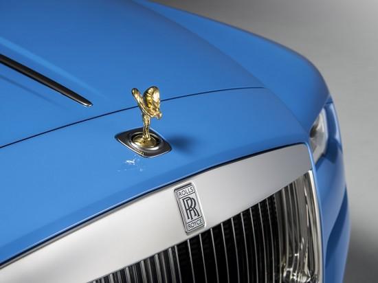 Rolls-Royce Dawn Cabriolet in Bespoke Blue