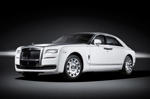 Rolls Royce ghost eternal love edition