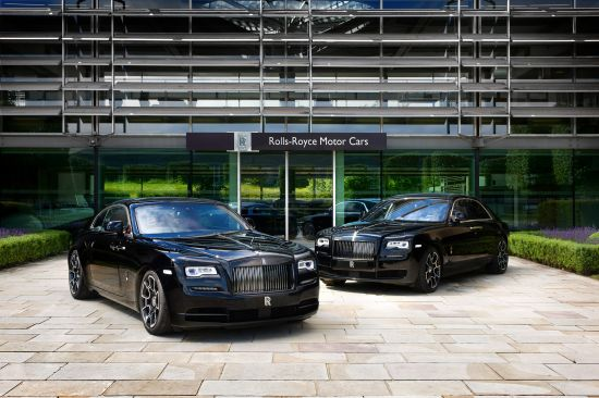 Rolls-Royce Wraith Black Badge and Ghost Black Badge