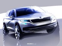 2016 Skoda Kodiaq Sketches , 1 of 2