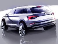 2016 Skoda Kodiaq Sketches , 2 of 2