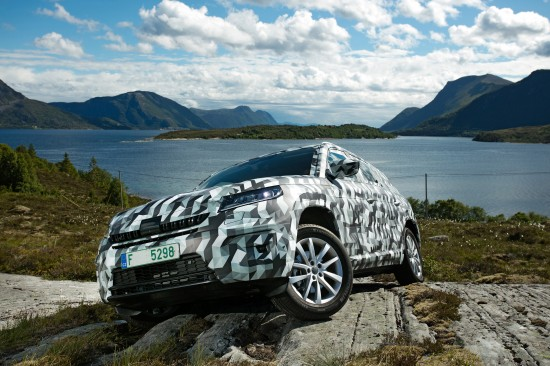Skoda Kodiaq SUV Covered