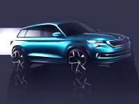 2016 Skoda VisionS Concept Sketches , 1 of 3