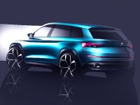 2016 Skoda VisionS Concept Sketches , 2 of 3