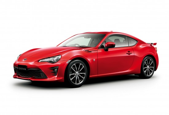 Toyota 86 Facelift