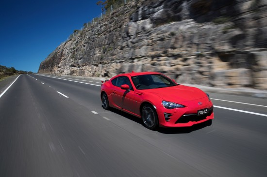 Toyota 86 GT Facelift