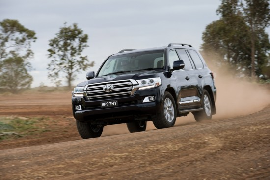Toyota Land Cruiser Facelift
