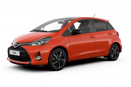 Toyota Yaris orange Edition 2016