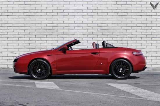 Vilner Alfa Spider Fibra de Carbono Rosso