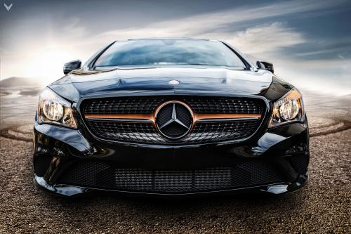 Vilner modifies a vision cla coupe 250 for Mercedes benz cla 500