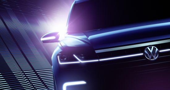 Volkswagen Beijing Concept SUV Teasers
