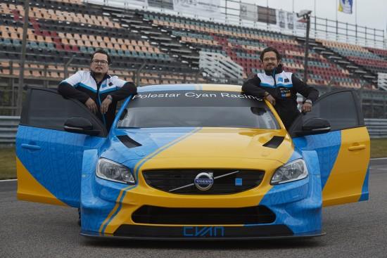 Volvo S60 Polestar Art Car WTCC by Bernadotte & Kylberg