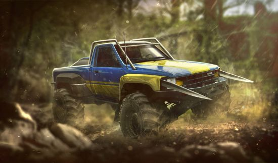 X-Men Cars Renderings