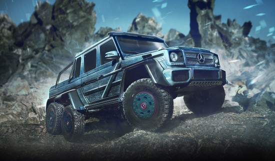 X-Men Cars Renderings