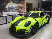 """2017 BlackBox-Ritcher Porsche 911 GT3 RS \""""Light Tron 911\"""", 1 of 7"""
