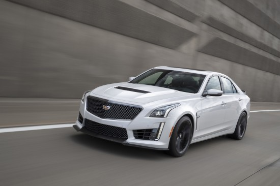 Cadillac ATS Coupe & ATS-V Sedan & CTS-V Sedan Carbon Black sport package