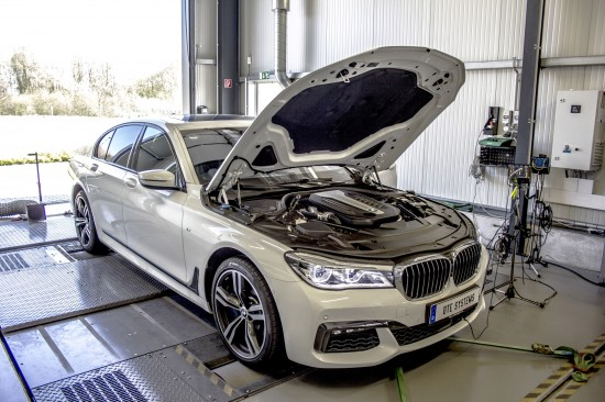 DTE Systems BMW 750d xDrive