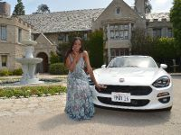 2017 Fiat 124 Spider and Eugena Washington , 1 of 3