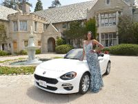 2017 Fiat 124 Spider and Eugena Washington , 2 of 3