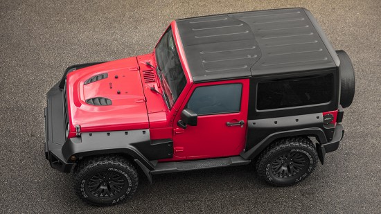 Firecracker Red Jeep Wrangler Sahara 3.6 Petrol Black Hawk Wide Track Edition