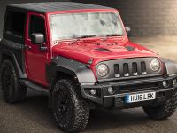 2017 Firecracker Red Jeep Wrangler Sahara 3.6 Petrol Black Hawk Wide Track Edition, 2 of 6