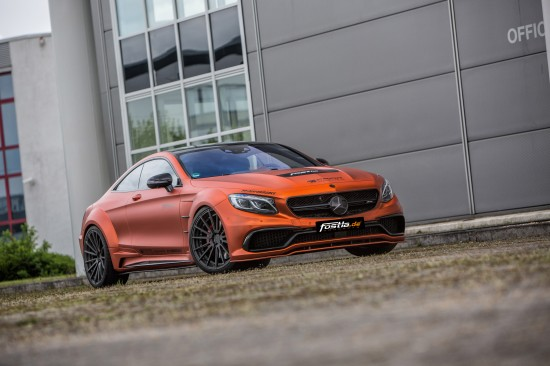 Fostla.de Mercedes-Benz AMG S 63 Coupe V8-Biturbo