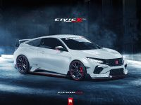 2017 Honda Civic Coupe Type R Render, 1 of 2