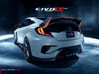 2017 Honda Civic Coupe Type R Render, 2 of 2