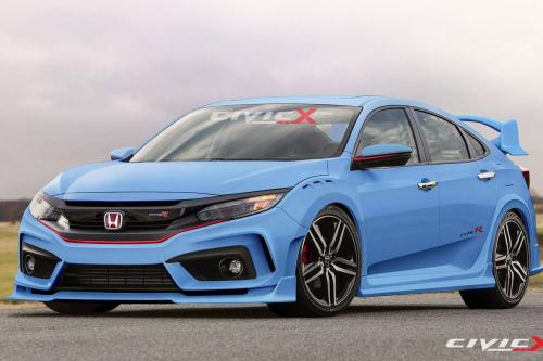 Honda Civic Type-R hatchback prototype by civicx