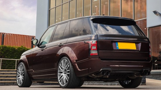 Kahn Design Land Rover Range Rover 4.4 SDV8 Vogue SE Pace Car