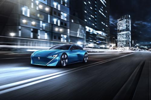 Peugeot Instinct concept - фотография peugeot