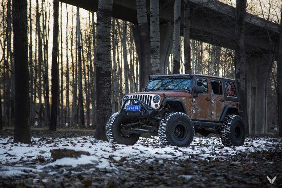 Vilner Jeep Wrangler Hunting Unlimited