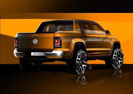 Volkswagen Amarok Sketches