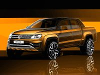 2017 Volkswagen Amarok Sketches , 1 of 3