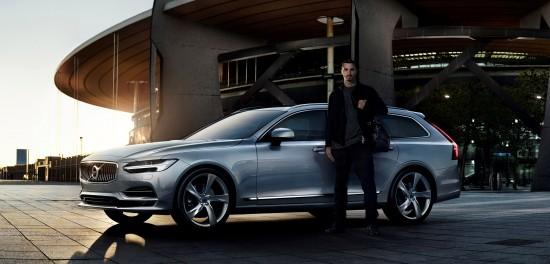 Volvo V90 feat. Zlatan Ibrahimovic