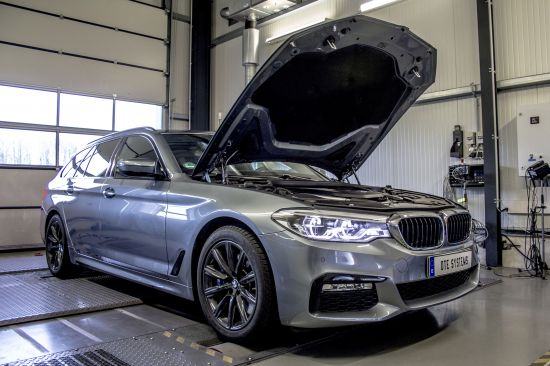 DTE Tuning BMW 540i