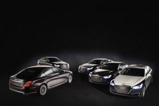 Genesis G90 Celebrity Cars