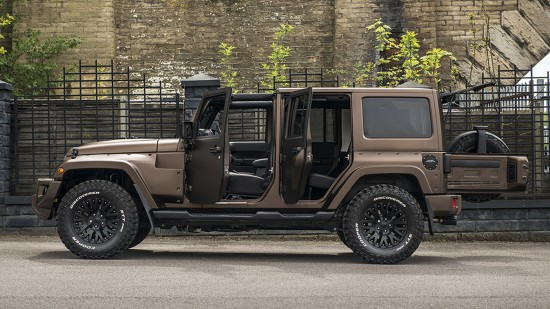 Kahn Design Jeep Wrangler Night Eagle