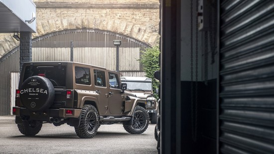 Kahn Design Jeep Wrangler Night Eagle